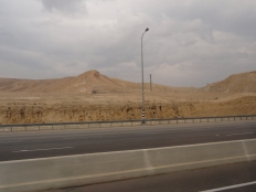 Terrain outside of Bethlehem